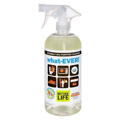 Better Life WhatEVER All Purpose Cleaner - Unscented - 32 fl (Best Green All Purpose Cleaner)