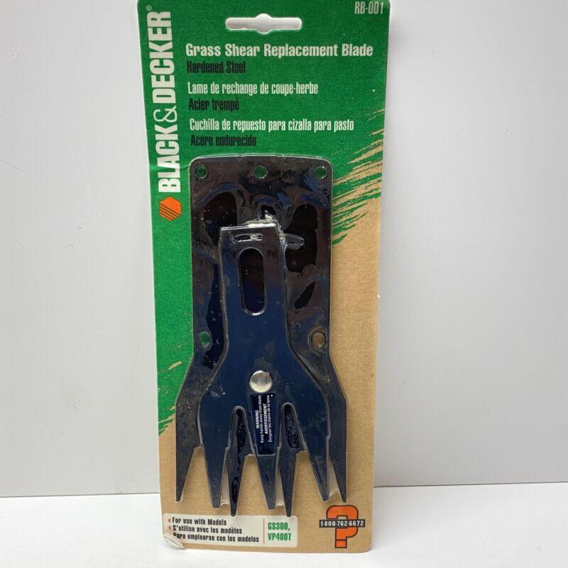 Black & Decker RB-001 Grass Shear Replacement Blade, GS300, GS500, VP400T
