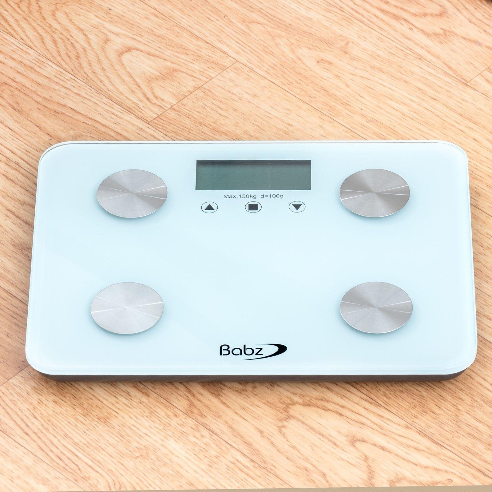 Bmi Bathroom Scale: Digital Body Fat BMI Analyser Scales 150KG Weighing Scale