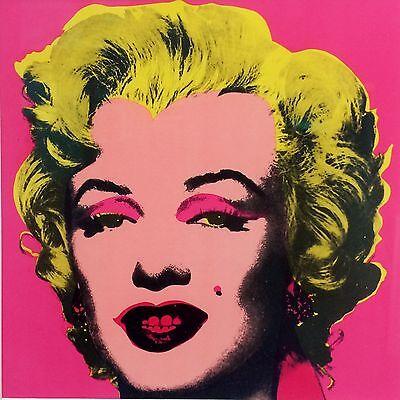 Andy Warhol - Marilyn Monroe - 1981 Leo Castelli Print Retrospective Invitation