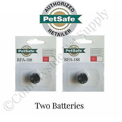 PetSafe 3 Volt Module RFA-188 Replacement Battery - 2 (Petsafe Battery Rfa 188)