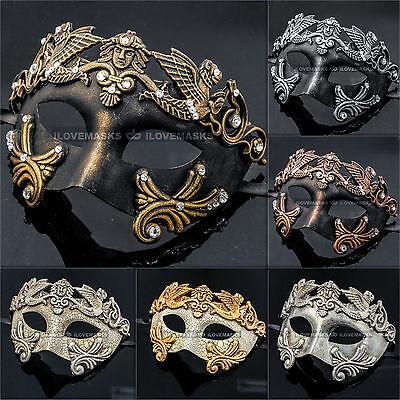 Titan Warrior Venetian Masquerade Party Full Face Ball Party Men Women Masks - Venetian Full Face Mask
