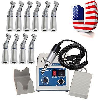 35k Rpm Marathon Dental Lab Electric Micromotor N310 Slow Contra Angle Fit Nsk