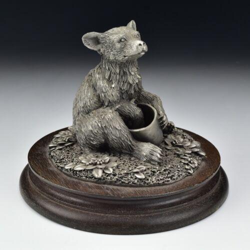 Vintage Chilmark Pewter Black Bear Cub 1977