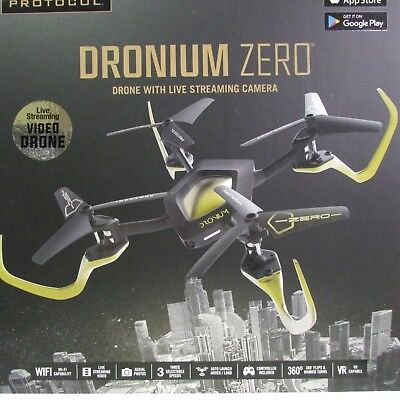 Drone Dronium Zero with live streaming Video camera wifi stunt drone