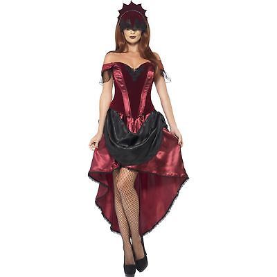 Venetian Temptress Day Of The Dead Burlesque Womens Ladies Fancy Dress Costume](Lady Of The Dead Costume)