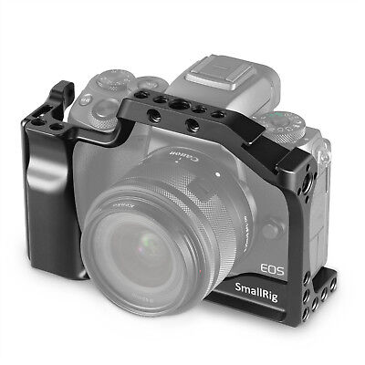 SmallRig Cage for Canon EOS M50 & M5 with Integrated Grip & NATO Rail 2168 ()
