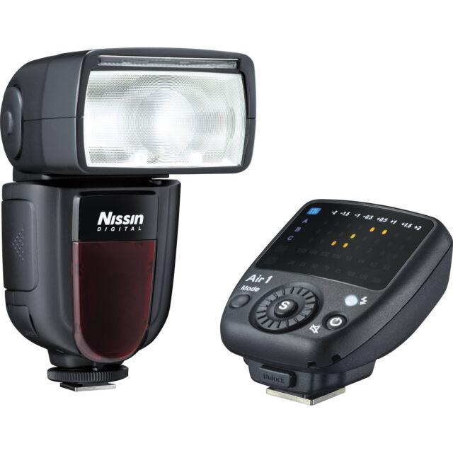 Flash Nissin Digital Di700A + Commander Air 1 Wireless for Nikon (i-TTL)