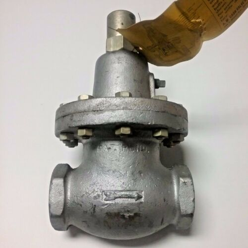 Automatic Back Pressure Control Valve  KD Cash Acme Type Ammonia  New USA