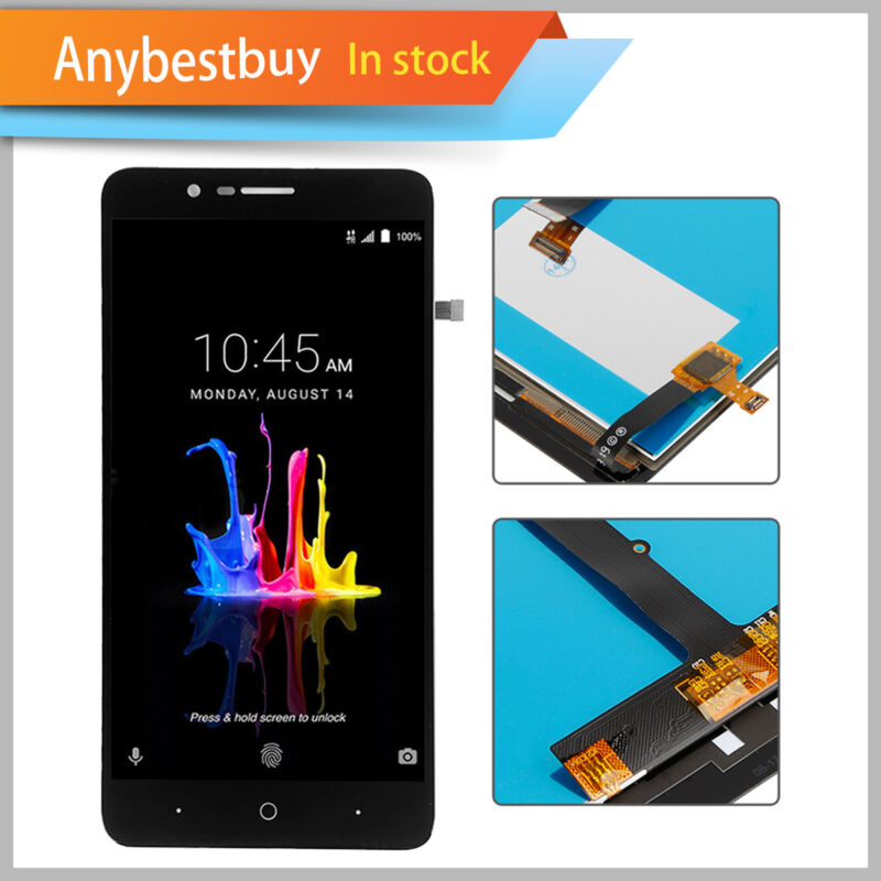Replacement Parts LCD Screen Touch Digitizer Assembly For ZTE Blade Z Max Z982