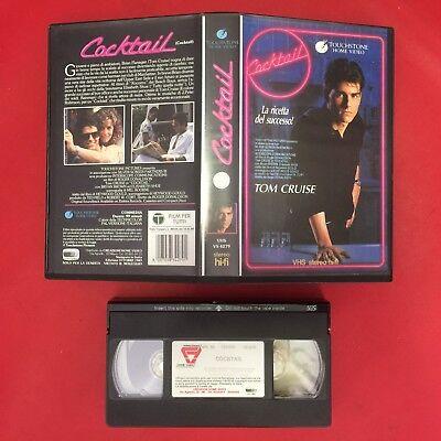 (VHS Film) COCKTAIL LA RICETTA DEL SUCCESSO (1989) Tom CRUISE VS 4279