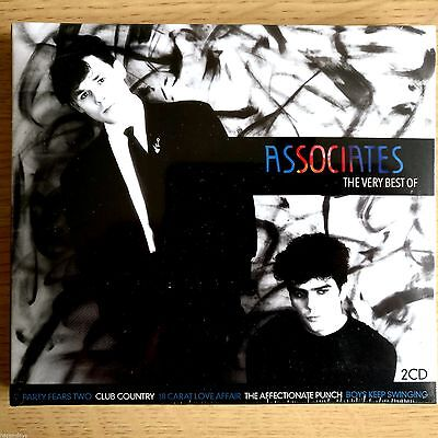 2CD NEW SEALED - ASSOCIATES - THE BEST OF - Pop New Wave 80's Music 2x CD