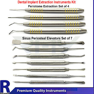 Sinus Lifting Dental Periosteal Surgery Tooth Extracting Implant Periotome Lab