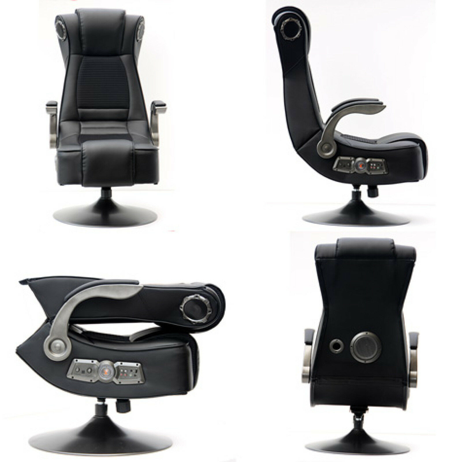 Gaming Chair PS4 XBox e PC Ergonomically Audio Bluetooth Solid