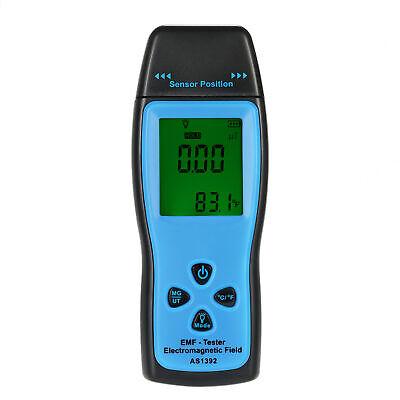Mini Digital Lcd Emf Tester Electromagnetic Field Radiation Detector Meter Q2a6