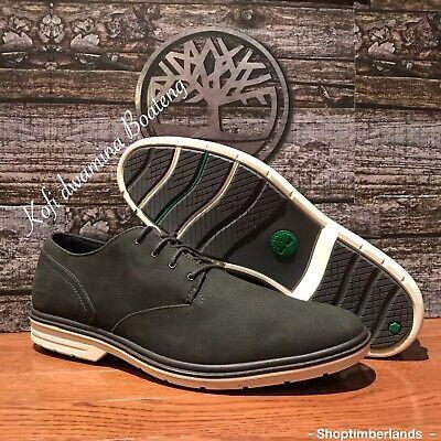 Timberland Men's Sawyer Lane Oxford Navy Leather Shoes. SZ:11.5
