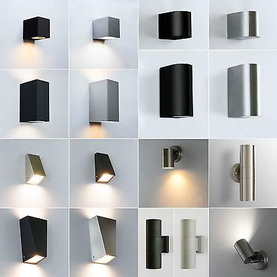 Außenwandleuchte Außenleuchte GU10 Außenlampe Wandleuchte Wandlampe Leuchte x