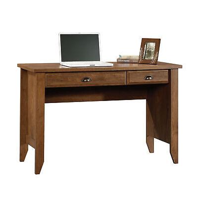 Shoal Creek Computer Desk in Oiled Oak Finish