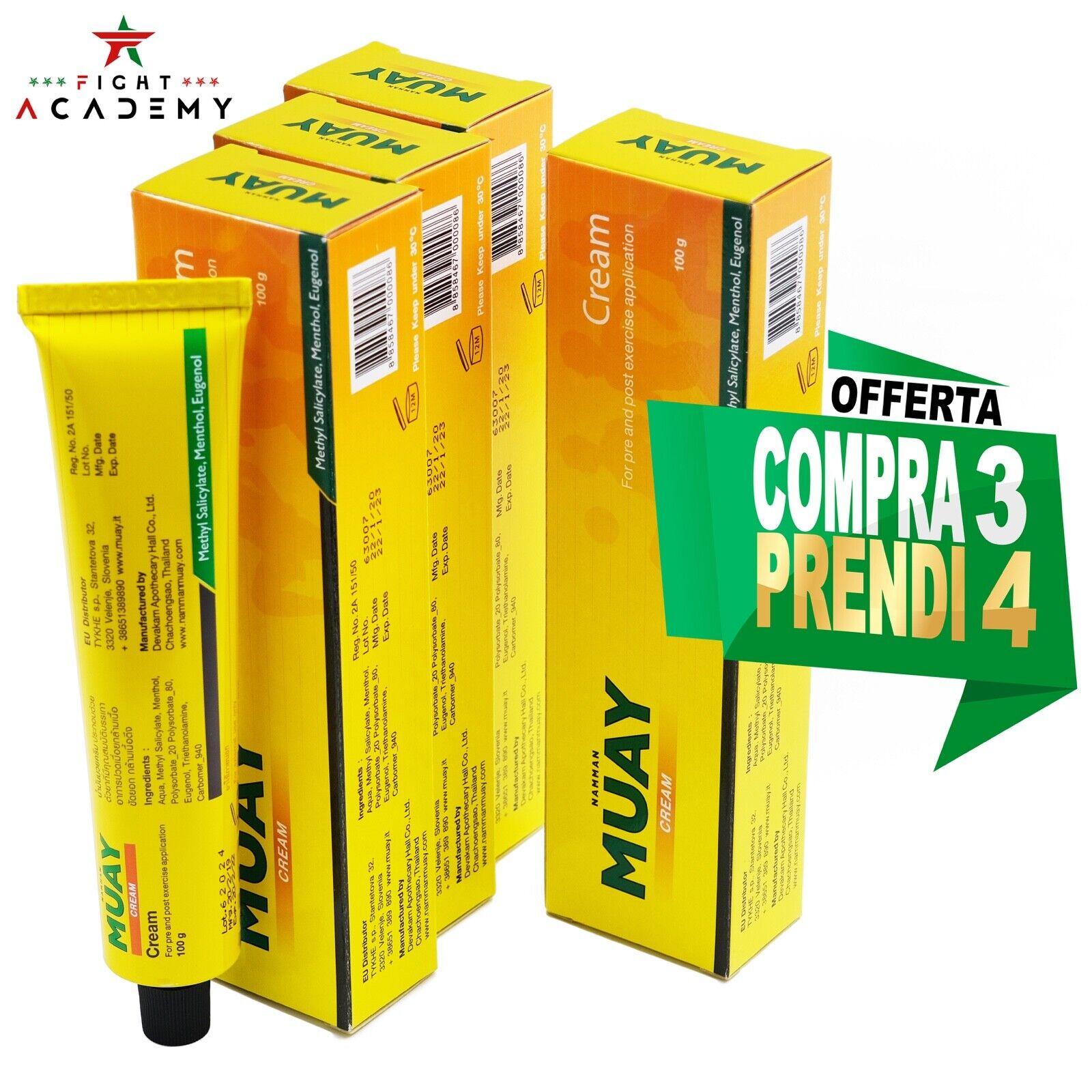 Crema Namman Muay analgesica 3+1 GRATIS, pre/post esercizio,