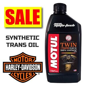 ★ SALE ★ Motul V-Twin TRANSMISSION OIL / Fluid ★ FULL SYNTHETIC