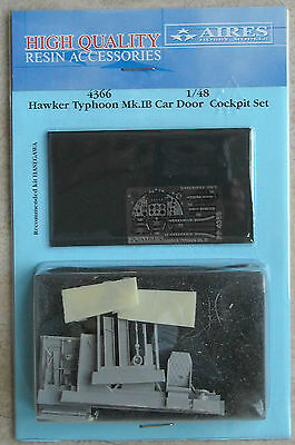 Aires 1/48 4366 Hawker Typhoon Mk.IB Car Door Cockpit Set for Hasegawa Kit