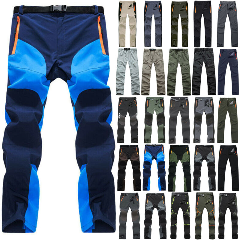 Men Women Climbing Hiking Warm Trousers Windproof Waterproof