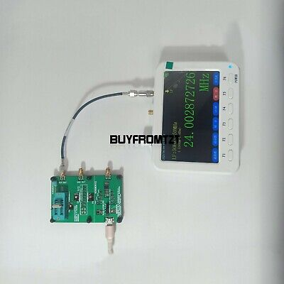 Crystal Oscillator Tester+FC-4000 Frequency Meter 50Hz-4GHz AT Command Version*