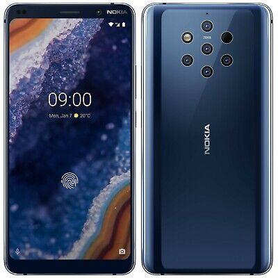 "Nokia 9 PureView TA-1087 128GB 6GB RAM (FACTORY UNLOCKED) 5.99"" Midnight Blue"