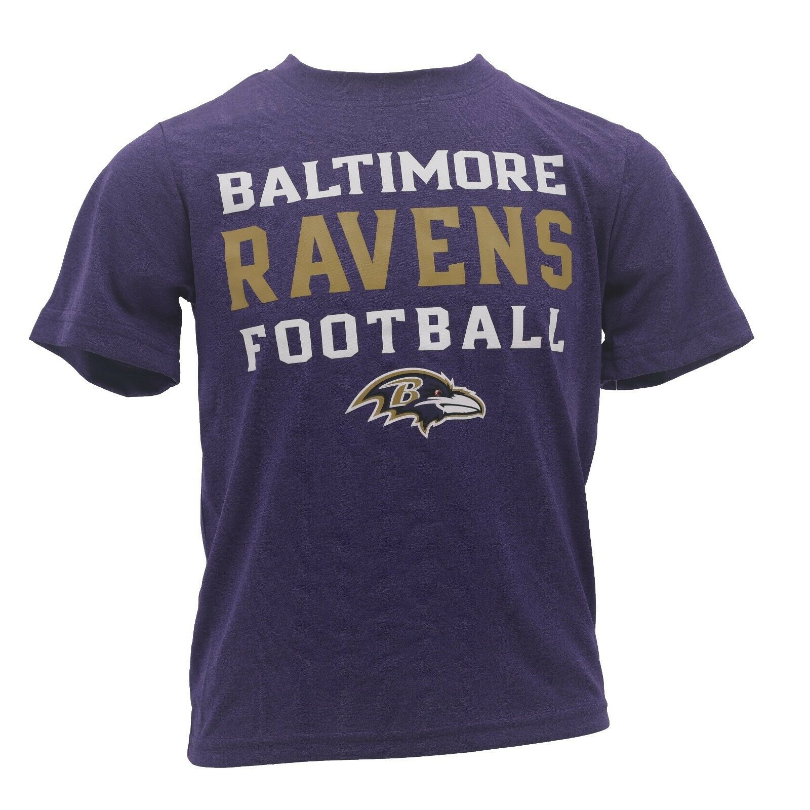 1f8a6ee20b3d9 Baltimore Ravens Kids Youth Size NFL Official Athletic T-Shirt New With Tags