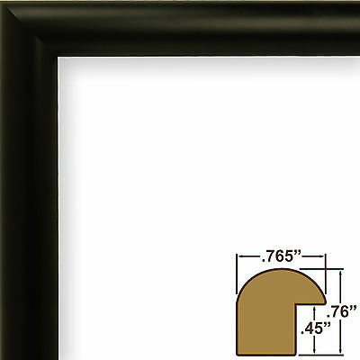 Craig Frames Contemporary Gallery Black Picture Frame ...