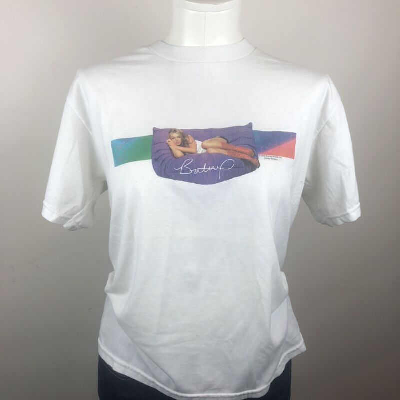 vintage 2000 britney spears Graphic t shirt Youth Large