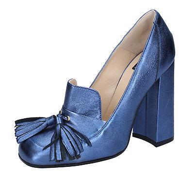 women's shoes ISLO ISABELLA LORUSSO 4 (EU 37) courts blue leather BZ225-C