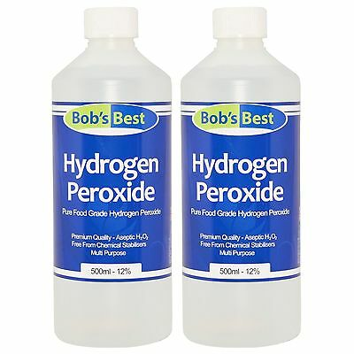 Food Grade Hydrogen Peroxide - 11.99% Solution - 1000ml - from Bob's