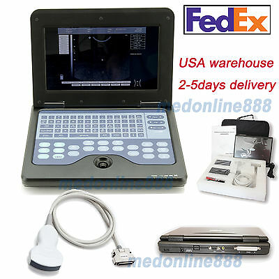 Full Digital B-ultrasound Scanner Diagnostic Convexabdominal Probe Us Seller Ce