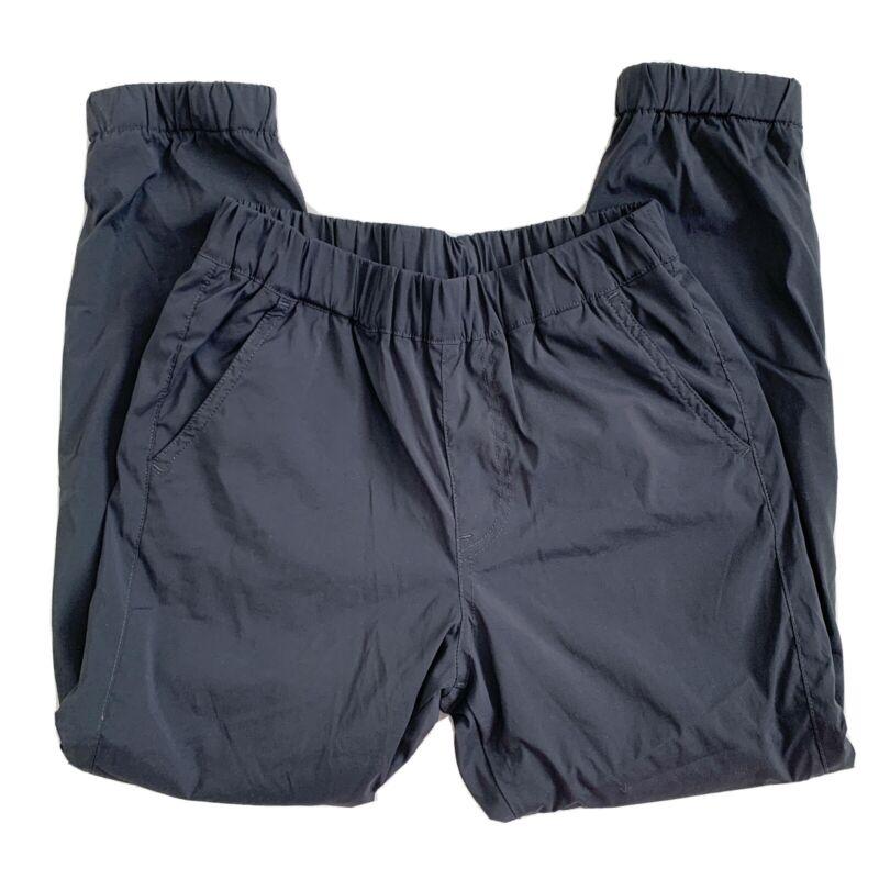 NEW Fleece Lined Uniqlo Black Jogger Pants Pockets