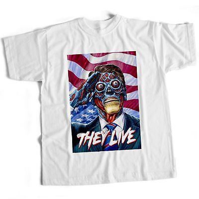 They Live Movie Film Halloween 80S Sci Fi Scary Horror mens Dracula Chucky - 80s Halloween Films