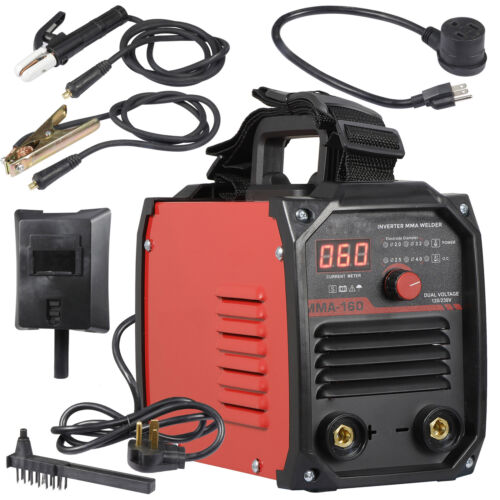 Mini IGBT ARC Welding Machine MMA Electric Welder 110V 220V 60-160A DC Inverter Business & Industrial