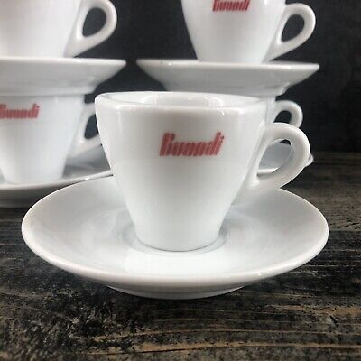 1 of 5 - IPA Buondi Italy Porcelain Espresso Set Cups & Saucers Italian Ceramic