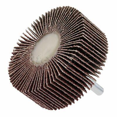 1pc 80 Grit Sanding Sandpaper 60mm Flap Wheels Deburring Polishing Rotary Tool