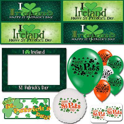 ay Ireland Shamrock Lucky Irish Decorations Party Supplies (St Patricks Day Party Supplies)