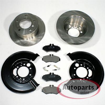 Mercedes Sprinter 3-t [903] - Bremsscheiben Bremsklötze Spritzbleche hinten
