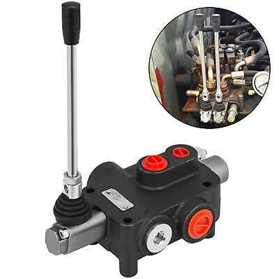 1 Spool Hydraulic Directional Control Valve 21 Gpm Motors Spool Double Acting