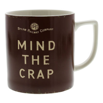 Vintage Style Coffee or Tea Mug Gift For Him - Mind The Cra* (Vintage Style Gifts For Him)
