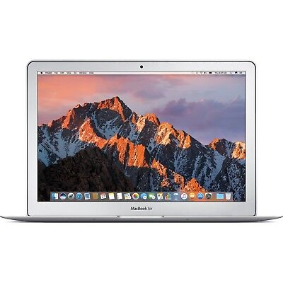 "Apple 13""  MacBook Air i7 8GB RAM 128GB SSD (Mid 2017, Silver) ZOUU3LL/A"