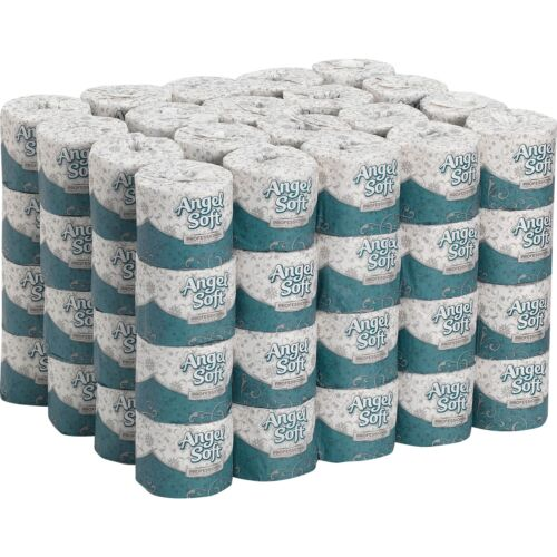 Angel Soft Professional Series Premium Embossed Toilet Paper Case of 80 Roll New