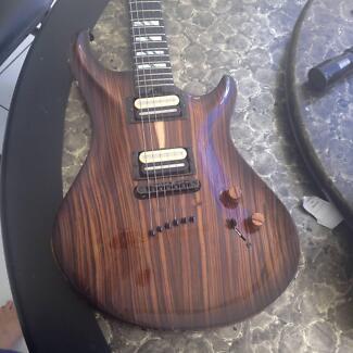 Rare Warrior Custom Guitar
