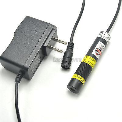 405nm 20mw Blueviolet Focus Dot Laser Diode Module 5v Adapter Long Time Work