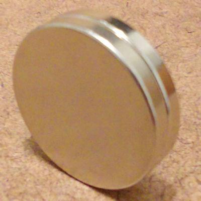 2 N52 Neodymium Cylindrical 58 X 18 Inch Cylinderdisc Magnets.