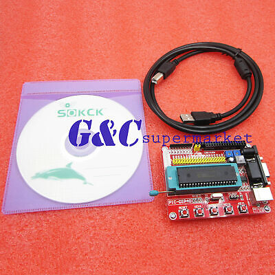 New System Pic Development Board Mini Microchip Pic16f877 Pic16f877a