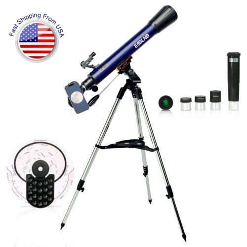 ESSLNB 700X70mm Telescope 35X-525X High Power for Moon Watching Kids Adults Gift